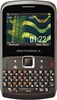 Motorola EX115 Dual SIM Unlocked QuadBand Cellular Phone Titanium - QWERTY, 3.15MP Camera, FM Radio