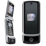 Motorola K1 KRZR Unlocked QuadBand Cellular 2MP Camera Phone Black - EDGE