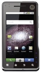 "Motorola DROID MILESTONE XT720 Unlocked QuadBand GPS HSDPA WiFi Cellular Phone Black - 2100MHz WCDMA, 3.7"" Display, 8MP Camera, 720p HD Video, Accelerometer, Xenon Flash, Geo-Tagging, FM Radio, Digital Compass, TV-Out HDMI, Android OS v2.1 Eclair"