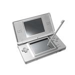 Nintendo DS Lite Portable Gaming Console (Silver)