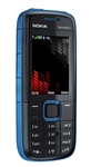 "Nokia 5130 XpressMusic Unlocked QuadBand Cellular Phone Blue - 2.0"" Display, 2MP Camera, FM Radio"