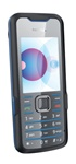 Nokia 7210 Supernova Slide Unlocked TriBand Cellular Phone Blue - EDGE, 2MP Camera, FM Radio