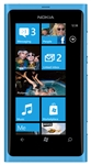 "Nokia Lumia 800 Unlocked QuadBand GPS WiFi HSDPA Cellular Phone Sea Ray Blue Cyan - 850/900/1900/2100MHz WCDMA, 3.7"" AMOLED Display, Gorilla glass, 8MP Camera, Carl Zeiss, HD Video 720p, Digital compass, Snapdragon, Microsoft Windows Phone 7.5 Mango"