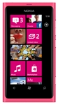 "Nokia Lumia 800 Unlocked QuadBand GPS WiFi HSDPA Cellular Phone Sea Ray Pink Magenta - 850/900/1900/2100MHz WCDMA, 3.7"" AMOLED Display, Gorilla glass, 8MP Camera, Carl Zeiss, HD Video 720p, Digital compass, Snapdragon, Microsoft Windows Phone 7.5 Mango"