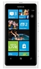 "Nokia Lumia 800 Unlocked QuadBand GPS WiFi HSDPA Cellular Phone Sea Ray White Magenta - 850/900/1900/2100MHz WCDMA, 3.7"" AMOLED Display, Gorilla glass, 8MP Camera, Carl Zeiss, HD Video 720p, Digital compass, Snapdragon, Microsoft Windows Phone 7.5 Mango"