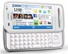 "Nokia C6 Unlocked QuadBand GPS WiFi HSDPA Cellular Phone White - 850/900/1900/2100MHz WCDMA, 3.2"" Display, 5MP Camera, QWERTY keyboard, FM Radio, 3.5 mm audio jack, Symbian S60"