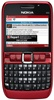 Nokia E63 Smartphone Unlocked QuadBand WiFi Cellular Phone NAM Red - 850/1900MHz WCDMA, 2MP Camera, FM Radio, QWERTY, Symbian