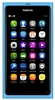 "Nokia N9-00 16GB Unlocked QuadBand GPS WiFi HSDPA Cellular Phone Lankku Blue - 850/900/1700/1900/2100MHz WCDMA, 3.9"" AMOLED Display, Gorilla glass, 8MP Camera, Carl Zeiss, HD Video 720p, NFC, Dolby, TV-Out, Digital compass, MeeGo OS, v1.2 Harmattan"