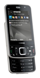 Nokia N96 16GB Unlocked QuadBand GPS WiFi 5MP Camera HSDPA Cellular Phone - 900/2100MHz WCDMA, FM Radio, TV Out, DVB-H TV Receiver, Symbian S60