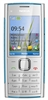 "Nokia X2 Unlocked QuadBand Cellular Phone Blue on Silver - 2.2"" Display, 5MP Camera, FM Radio"
