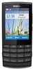 "Nokia X3-02 Touch and Type Unlocked QuadBand GPS WiFi HSDPA Cellular Phone Black - 850/900/1900/2100MHz WCDMA, 2.4"" Display, 5MP Camera, FM Radio, 3.5 mm audio jack"