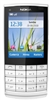 "Nokia X3-02 Touch and Type Unlocked QuadBand GPS WiFi HSDPA Cellular Phone White - 850/900/1900/2100MHz WCDMA, 2.4"" Display, 5MP Camera, FM Radio, 3.5 mm audio jack"