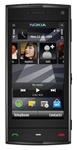 "Nokia X6 16GB Unlocked QuadBand GPS WiFi HSDPA Cellular Phone Black - 900/1900/2100MHz WCDMA, 5MP Camera, Carl Zeiss, Autofocus, LED Flash, 3.2"" Touch Screen, Accelerometer, FM Radio, TV-Out, Symbian S60"