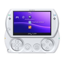 Sony PSP Go Handheld Gaming System - Pearl White