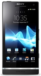 "Sony Xperia S LT26i 32GB Unlocked QuadBand GPS WiFi HSDPA Cellular Phone LT26 Nozomi ARC HD Black - 850/900/1900/2100MHz WCDMA, 4.3"" capacitive LED Display, Timescape, 12MP Camera, 720p HD, Digital Compass, FM Radio, HDMI, Android OS v2.3 Gingerbread"