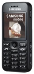 Samsung E590 Unlocked TriBand Cellular Phone Black - EDGE, 3.2MP Camera, FM Radio