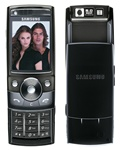 Samsung G600 Unlocked QuadBand 5MP Camera Cellular Phone Black - EDGE, FM Radio, TV Out