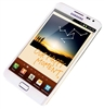 "Samsung Galaxy Note N7000 16GB Unlocked QuadBand GPS HSDPA WiFi Cellular Phone White - 850/900/1900/2100MHz WCDMA, 5.3"" Super AMOLED, Gorilla Glass, Dual-core ARM, 8MP Camera, 1080p HD Video, LED Flash, FM Radio, NFC, TV-Out, Android OS v2.3 Gingerbread"