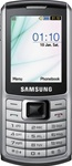 Samsung S3310 Unlocked QuadBand Cellular Phone Silver - EDGE, 2MP Camera, FM Radio