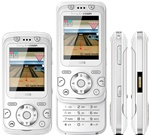 Sony Ericsson F305i Unlocked QuadBand Cellular Phone F305 White - EDGE, FM Radio, 2MP Camera
