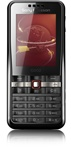 Sony Ericsson G502i Unlocked TriBand HSDPA Cellular Phone G502 Black - 2100MHz WCDMA, 2MP Camera, FM Radio