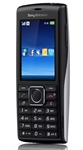 "Sony Ericsson Cedar J108 Unlocked QuadBand HSDPA Cellular Phone J108i Silver Black - 2100MHz WCDMA, 2.2"" Display, 2MP Camera, FM Radio"