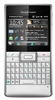 "Sony Ericsson Aspen M1 Unlocked QuadBand GPS WiFi HSDPA Cellular Phone M1i Silver - 900/2100MHz WCDMA, 2.4"" Display, QWERTY keyboard, 3.15MP Camera, FM Radio, Microsoft Windows Mobile 6.5.3 Professional"