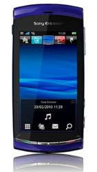 Sony Ericsson Vivaz U5i Unlocked QuadBand GPS WiFi HSDPA Cellular Phone U5 Blue - 900/2100MHz WCDMA, 8MP Camera, Autofocus, LED Flash, Touch Screen, 720p HD Video, TV Out, Geo-tagging, FM Radio, Symbian S60