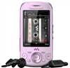 "Sony Ericsson Zylo W20 Unlocked QuadBand Cellular Phone W20i Pink - 2100MHz WCDMA, 2.6"" Display, 3.15MP Camera, FM Radio, Walkman"