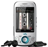 "Sony Ericsson Zylo W20 Unlocked QuadBand Cellular Phone W20i Silver - 2100MHz WCDMA, 2.6"" Display, 3.15MP Camera, FM Radio, Walkman"