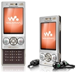 Sony Ericsson W715i Walkman Unlocked QuadBand GPS WiFi HSDPA Cellular Phone W715 Silver - 900/2100MHz WCDMA, 5MP Camera, FM Radio