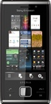 "Sony Ericsson X2 Xperia Unlocked QuadBand GPS WiFi HSDPA Cellular Phone X2i Black - 900/1900/2100MHz WCDMA, 8MP Camera, Autofocus, LED Flash, 3.2"" Touchscreen, QWERTY Keyboard,  TV Out, Microsoft Windows Mobile 6.5 Professional"