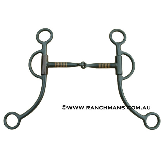 Twisted Wire O Ring Snaffle Bit