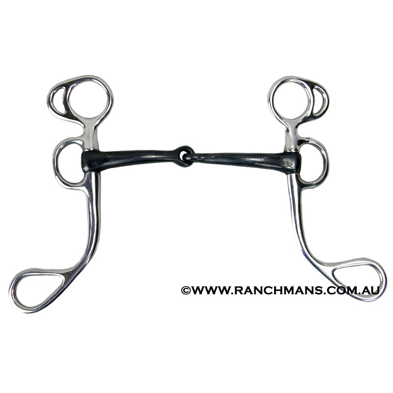 S S Shank Argentine Snaffle