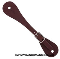 Metalab® Ladies Leather Single Ply Spur Straps