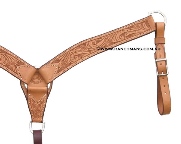 SRS® Pro Series Tooled Team Roper Breast Collar