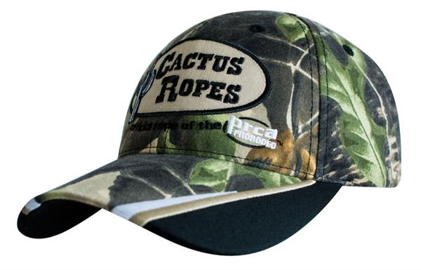 cactus ropes174 logo camo brand cap