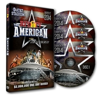 2014 RFDTV The American Rodeo DVD Set