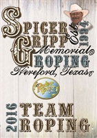 Spicer Gripp Memorial Team Roping 2016 DVD