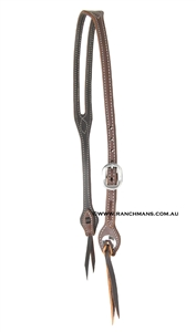Ranchmans Slot Ear Stitched Headstall