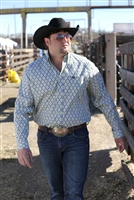Mens Cinch® Long Sleeve Plain Weave Shirt