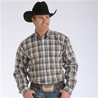Mens Cinch® Long Sleeve Louie Shirt