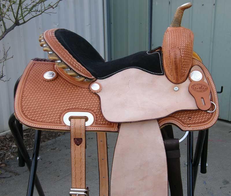Srs 174 14 Quot Barrel Racer Saddle