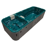 Grand Cayman Dual Zone Swim Spa Hot Tub