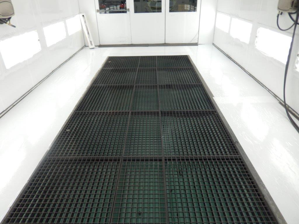 Floor Coverings Amp Adhesive Paint Booth Floor Paper