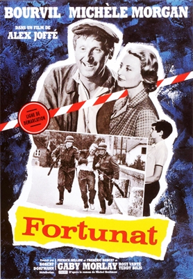 Fortunat (1960) Alex Joffe; Bourvil, Michele Morgan