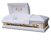 White Angel Casket