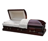 Elite Mahogany Casket Coffin
