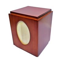 Solid Birch Urn WU10