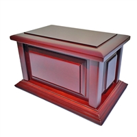Solid Cherry Wood Urn WU4